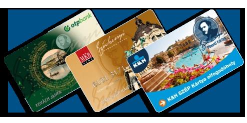 OTP, MKB és K&H SZÉP kártya elfogadóhely